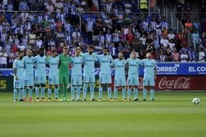 El minuto de silencio por los atentados de Barcelona