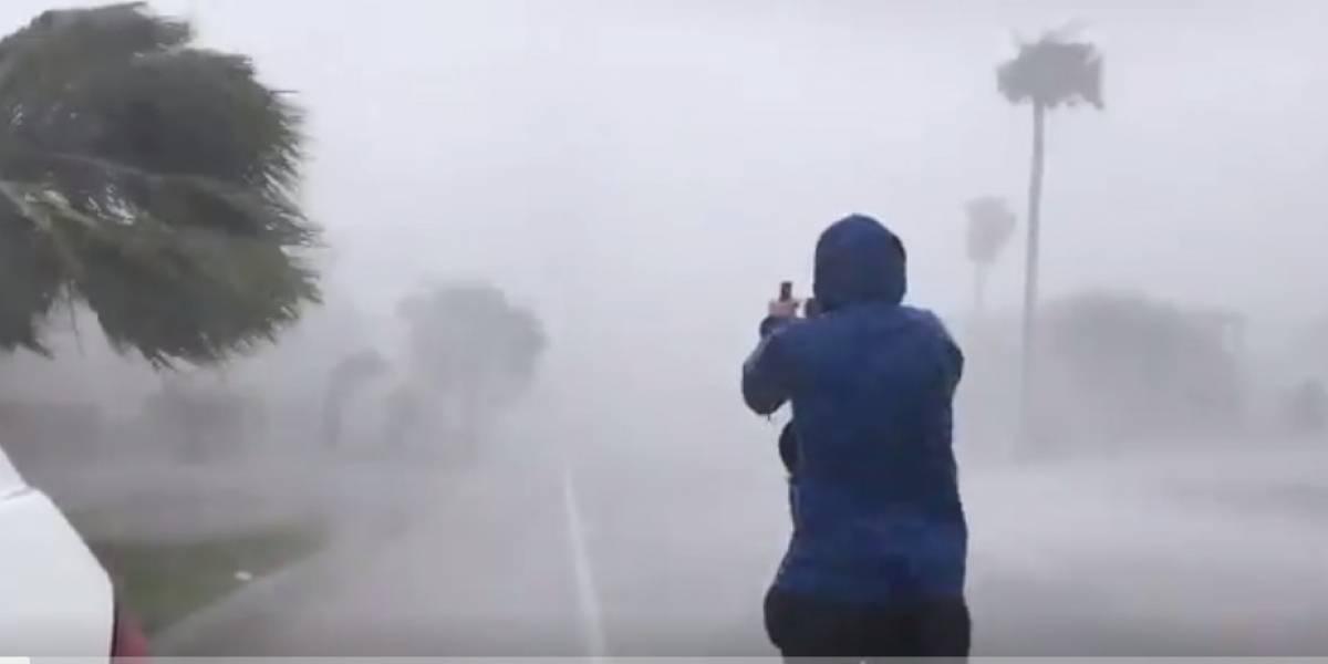 ¡Impresionante! Los daños que ha dejado el huracán Harvey tras llegar a Texas
