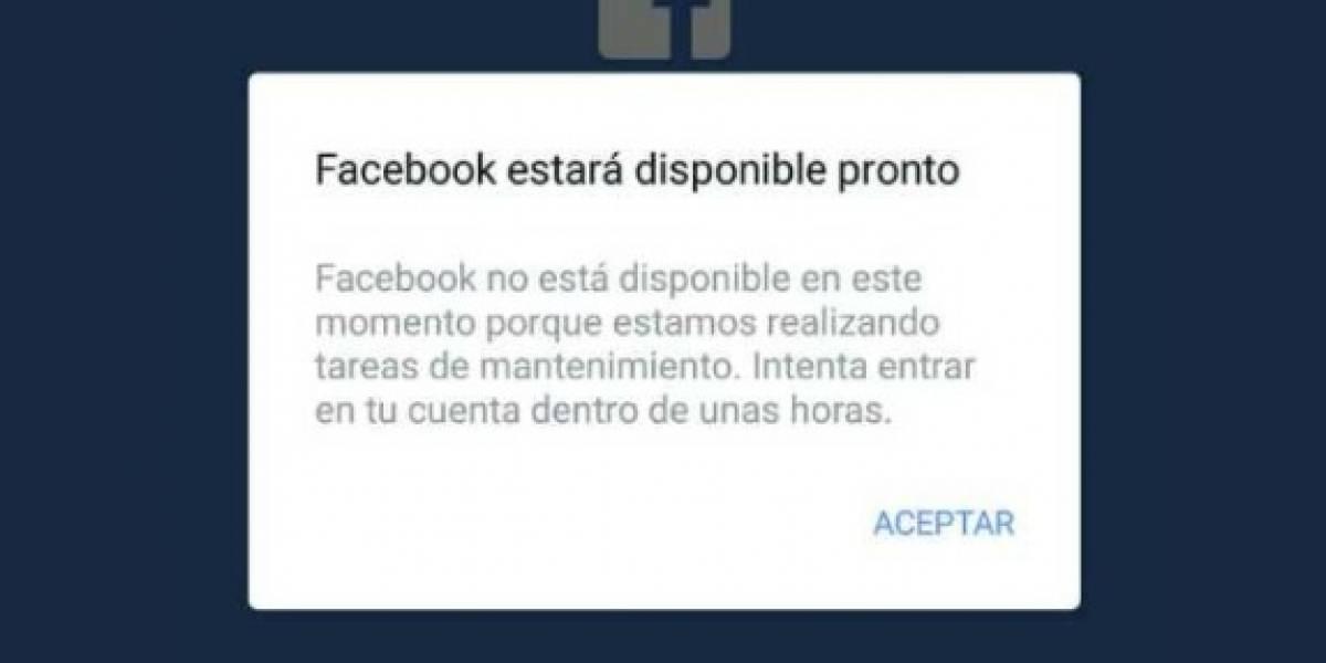 Facebook e Instagram presentan fallas