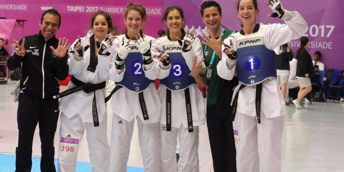 México suma dos platas y un bronce en Universiada Mundial