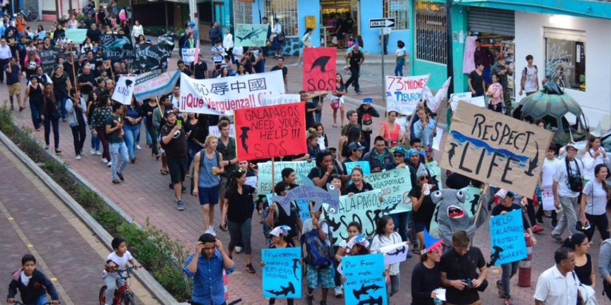 Ecuador internacionaliza lucha contra pesca alrededor de Galápagos