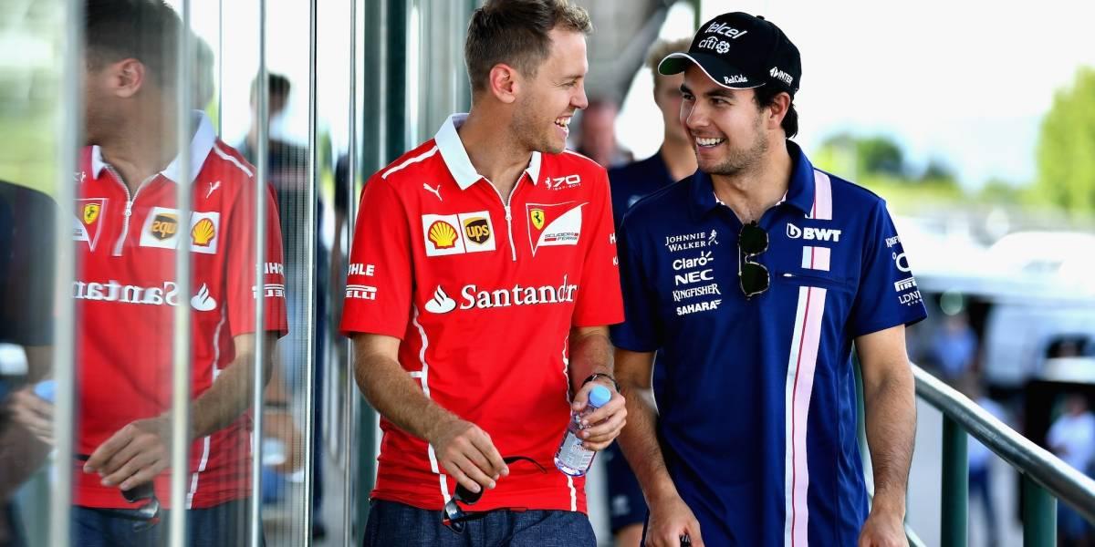 'Checo' Pérez saldrá desde el octavo puesto en el GP de Bélgica
