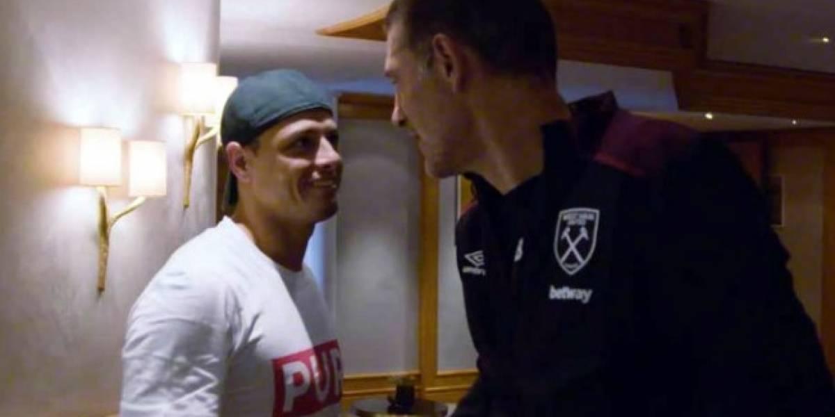 'Chicharito' está cerca de quedarse sin entrenador en West Ham