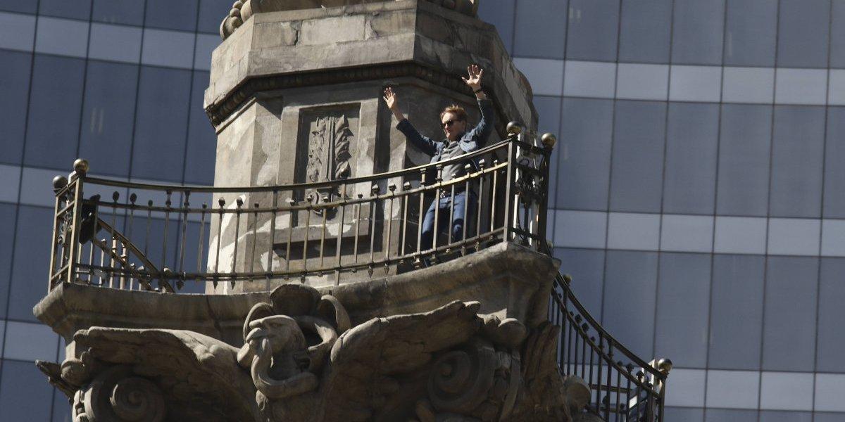Suspenden visitas guiadas al Mirador del Ángel de la Independencia