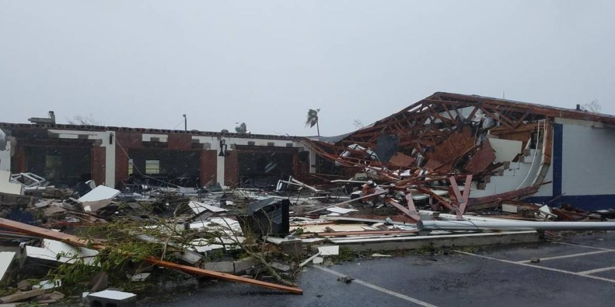 Confirman una muerte por el huracán Harvey