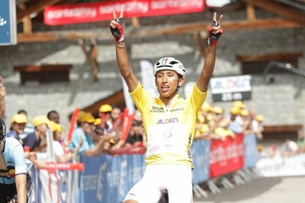 Egan Bernal en el Tour del Avenir