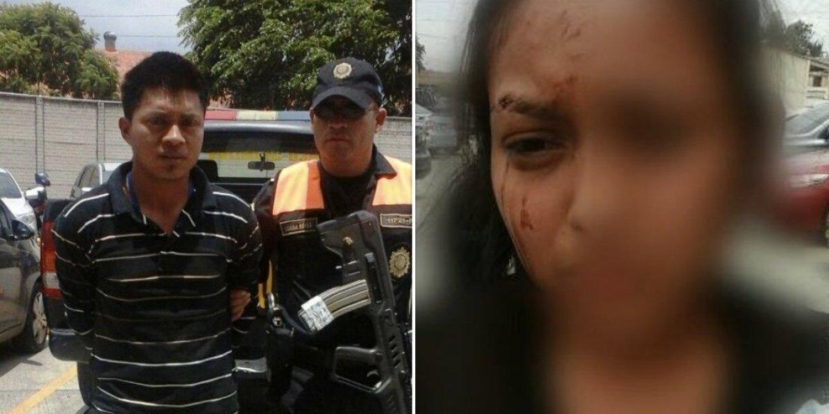 Desata indignación la golpiza a una mujer que cargaba a su bebé