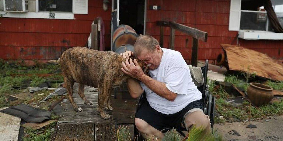 EN IMÁGENES. Harvey deja un muerto y temor a inundaciones catastróficas en Texas