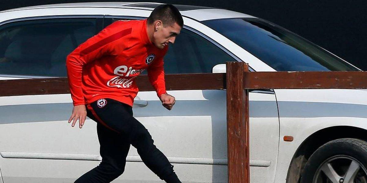 Nicolás Castillo adelantó su viaje y ya está en Chile para los duelos clasificatorios