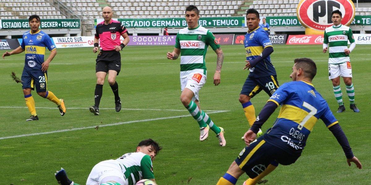 Everton supera a Deportes Temuco y se ubica momentáneamente como puntero