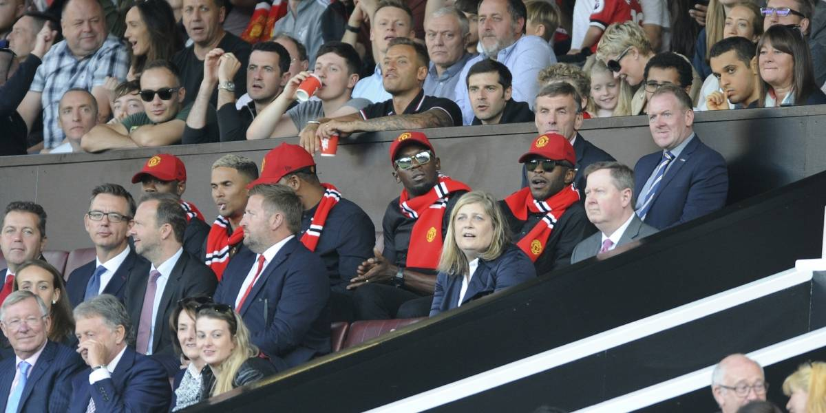 ¿Que hacía Usain Bolt como invitado especial del Manchester United?