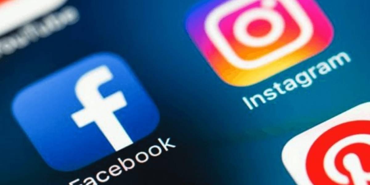 Con problemas de acceso Facebook e Instagram