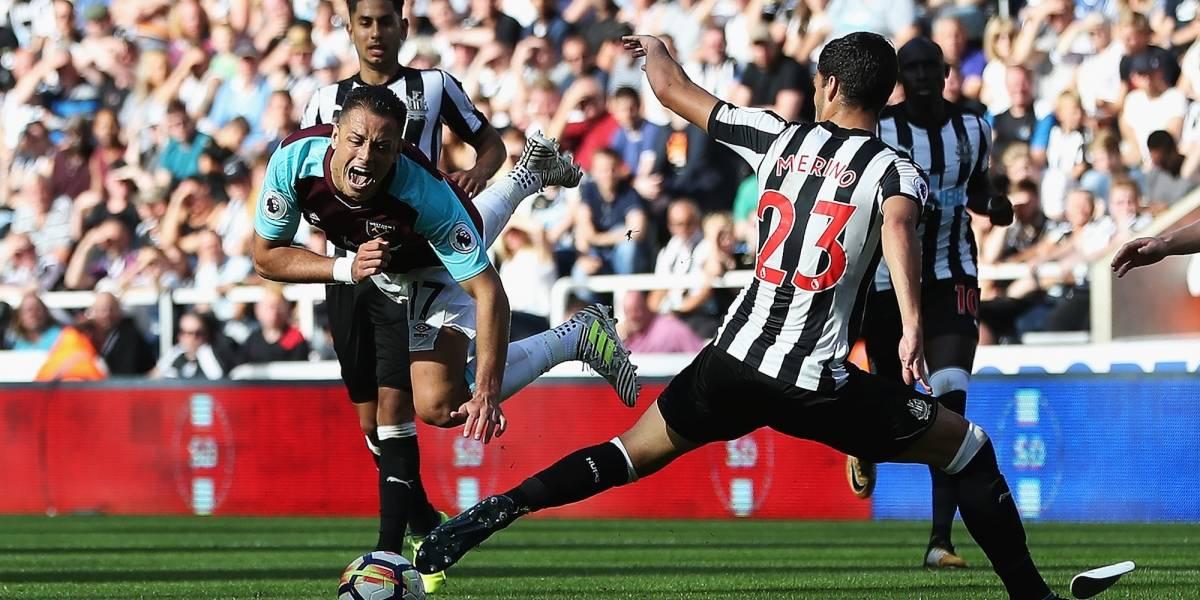 'Chicharito' y West Ham volvieron a ser goleados en la Premier League