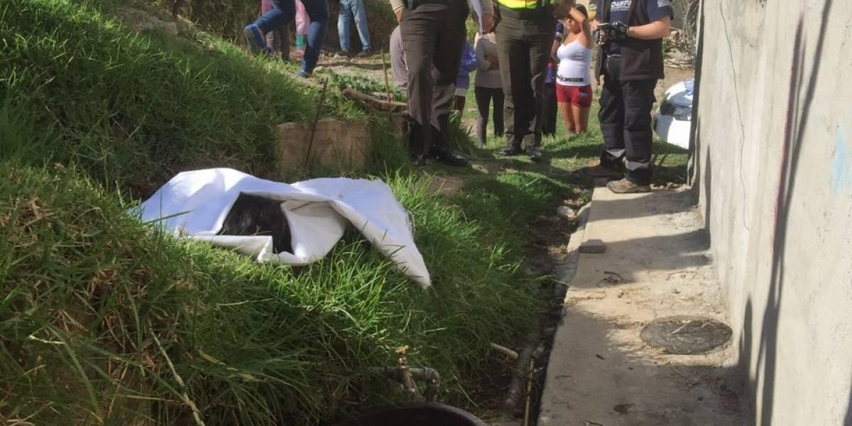 Niña de dos años falleció ahogada en un recipiente