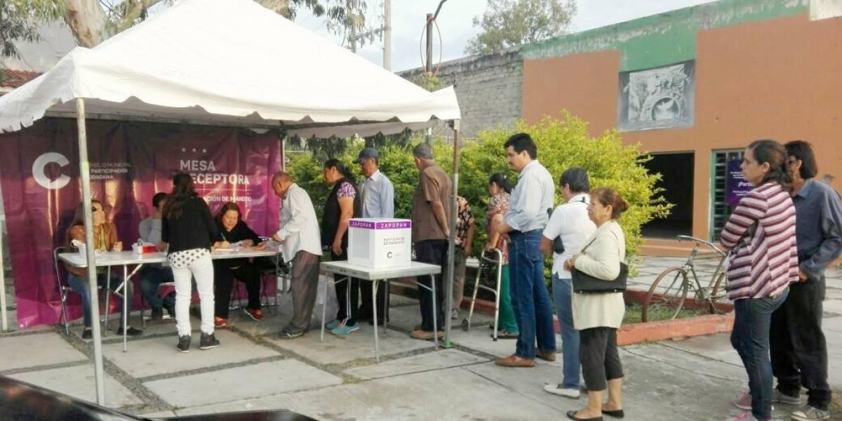 Entre anomalías, ratifican a los alcaldes de Movimiento Ciudadano