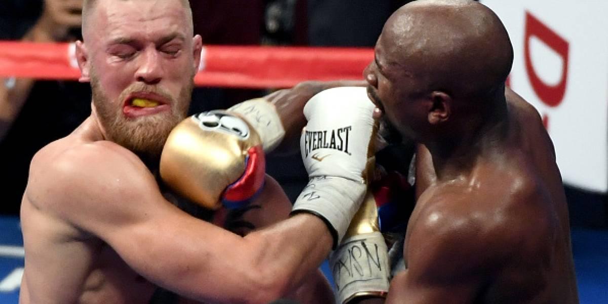 Así quedó el rostro de McGregor después de recibir 170 golpes