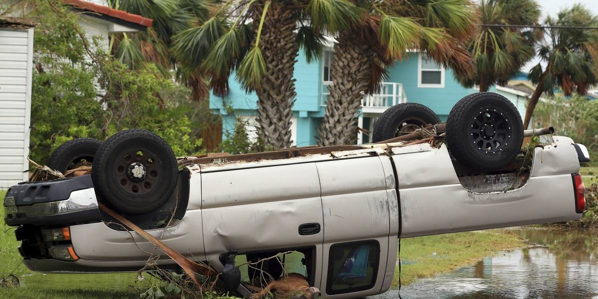 Aumenta a cinco el número de muertos en EU por tormenta tropical Harvey