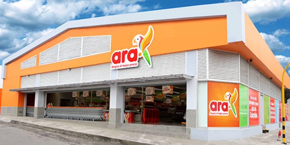 Tiendas Ara no estaría regalando ningún bono de mercado por redes sociales