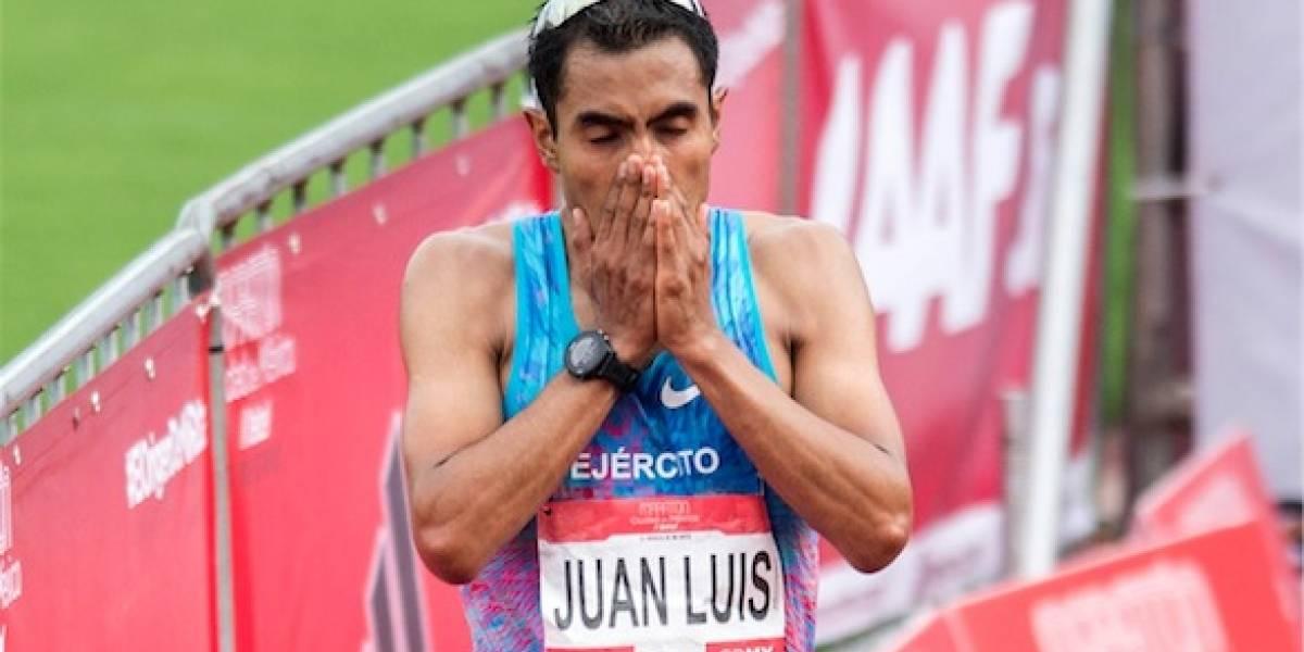 Juan Luis Barrios lamenta decepcionar a mexicanos en Maratón de la CDMX