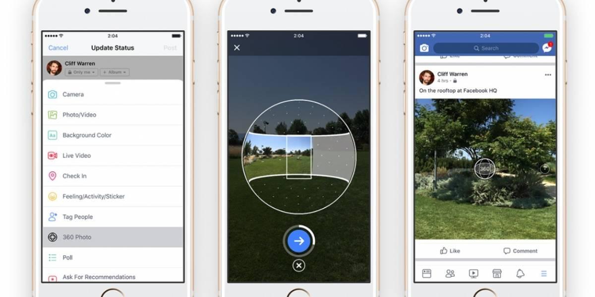 ¿Cómo sacar fotos 360º en Facebook?