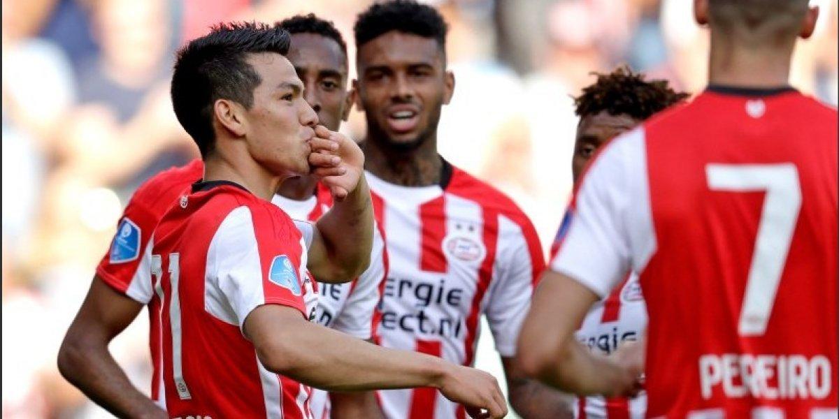 VIDEO: Hirving Lozano volvió a marcar en triunfo del PSV