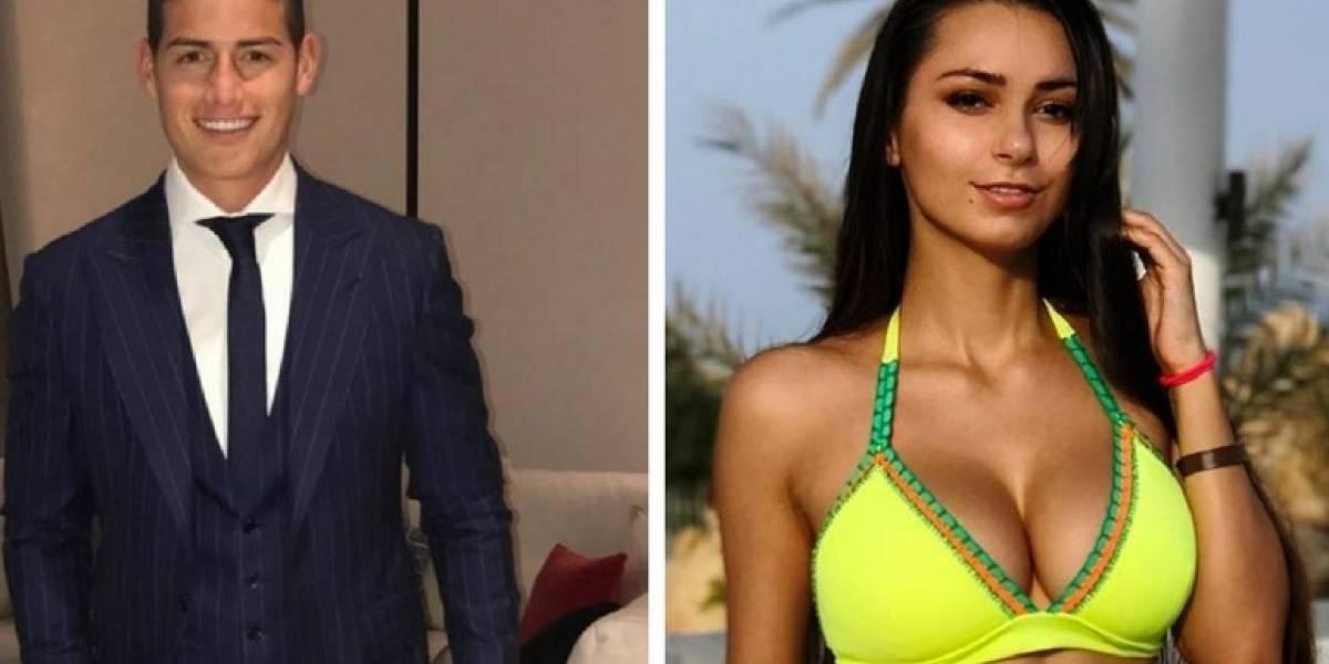 Siguen los mensajes de la modelo rusa Helga Lovetaky a James Rodríguez en Instagram