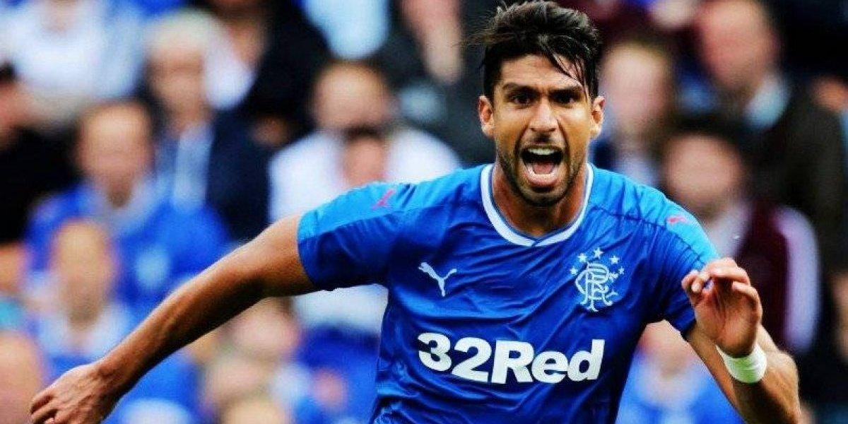Lalo Herrera se estrena como goleador en Escocia