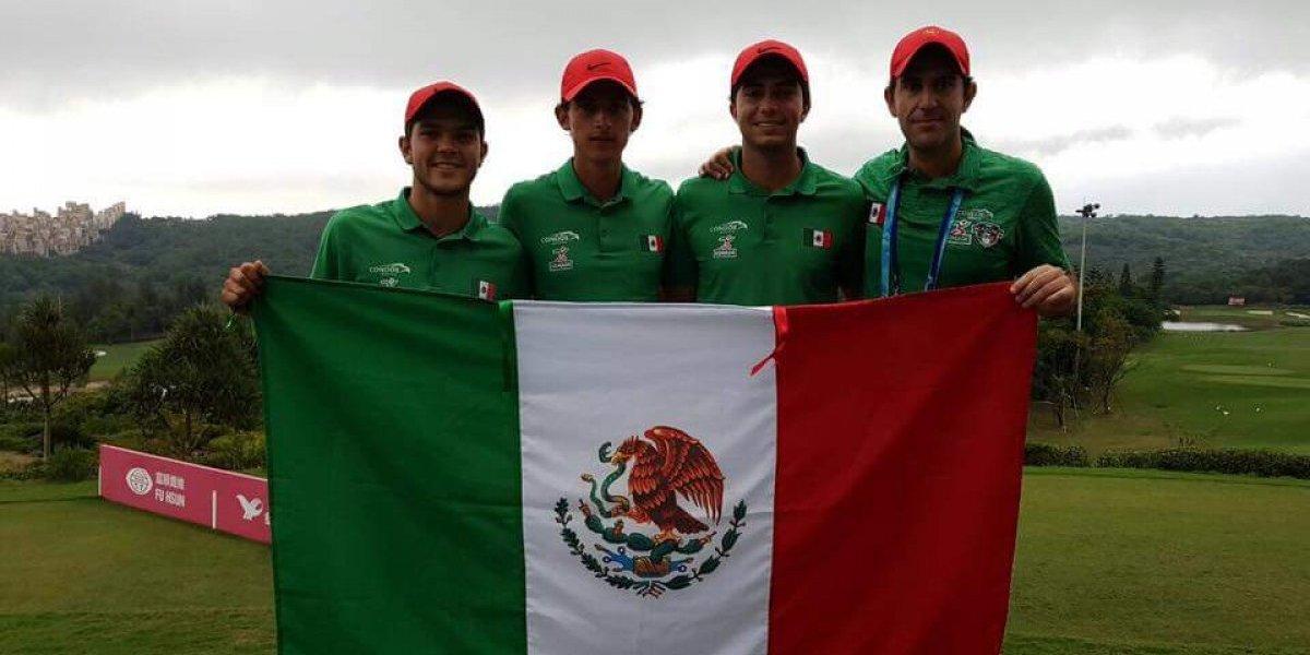 Golfista Raúl Pereda le da su quinto oro a México en Universiada 2017
