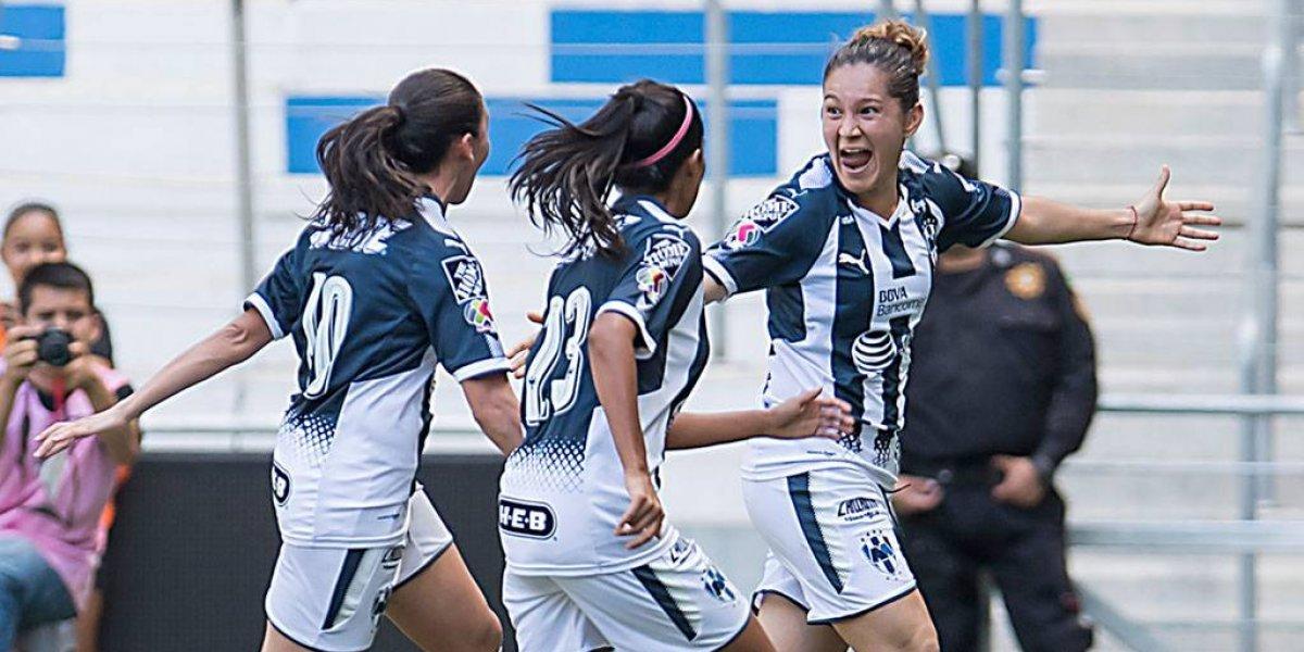 Rayadas sacan triunfo ante Chivas y ya esperan el primer Clásico femenil oficial