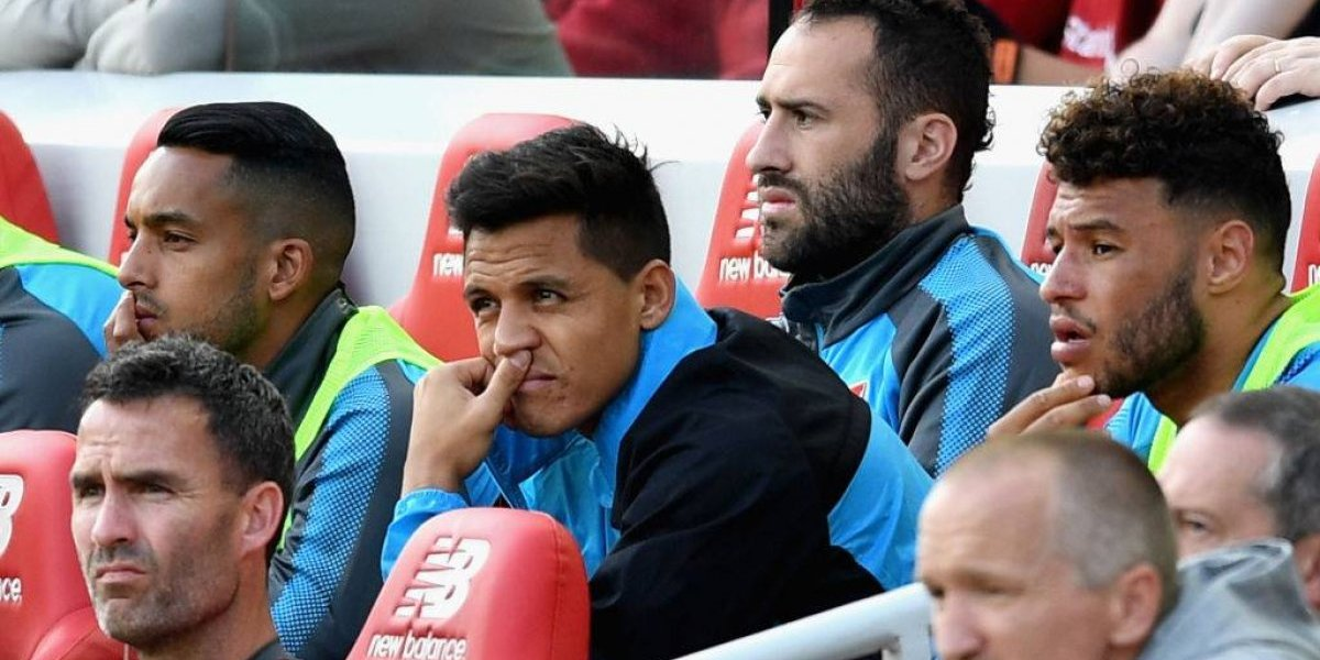 """La frustración de Alexis en Arsenal: """"Está desesperado por dejar el club por el City"""""""