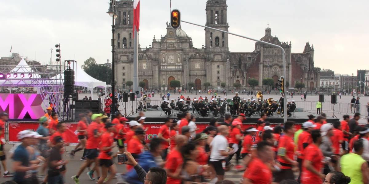 Concluye sin incidentes operativo del Maratón 2017 de la Ciudad de México