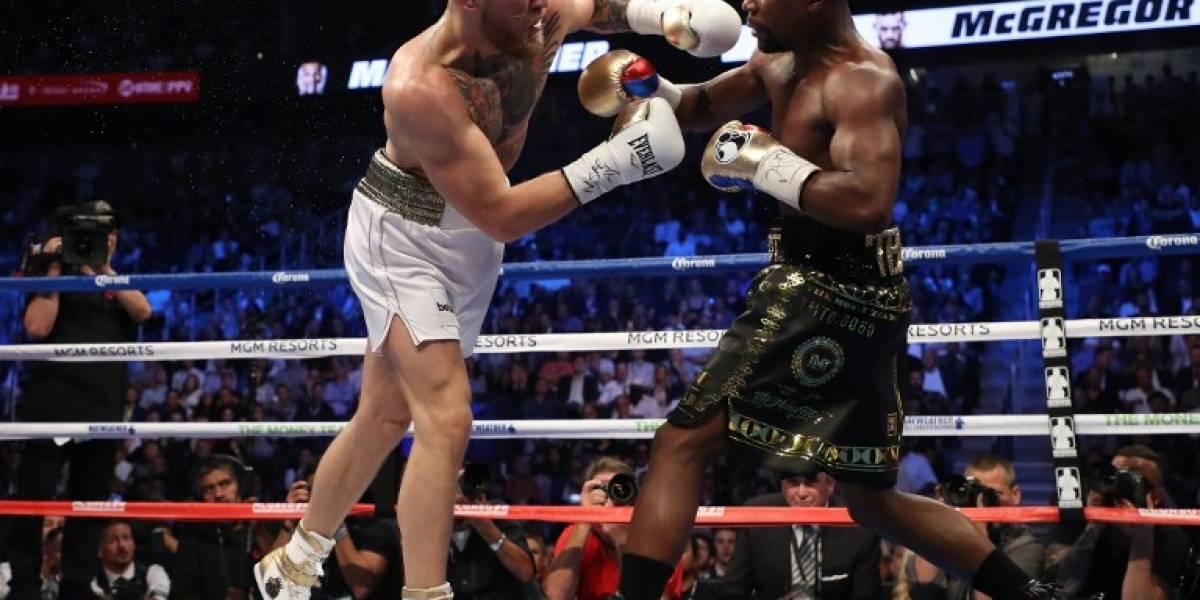 ¡Mayweather sigue invicto tras paliza a McGregor!
