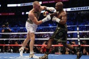 La pelea entre McGregor y Mayweather