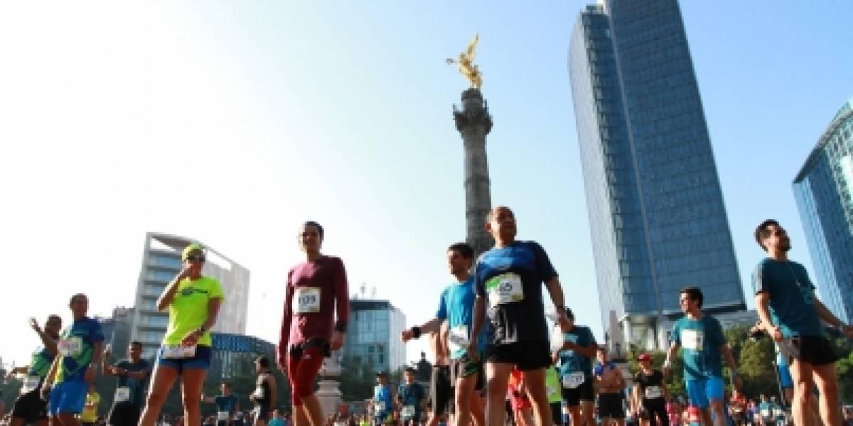 Estas son las vialidades cerradas por la realización del Maratón de la Ciudad de México