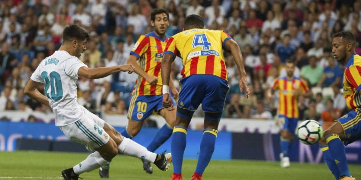 El Valencia le quita el liderato al Real Madrid