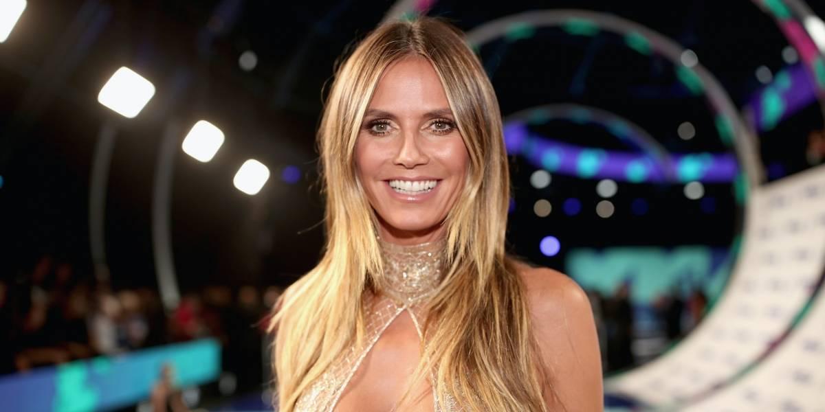El pronunciado escote con el que Heidi Klum se robó las miradas en los VMAs