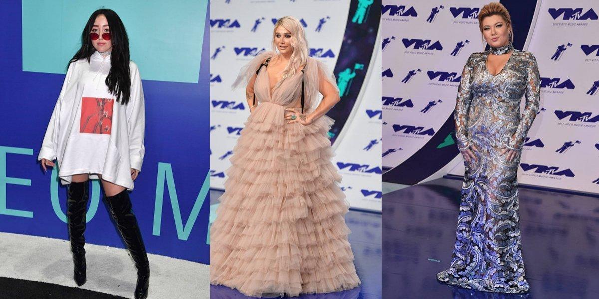 Las peor vestidas de los MTV Video Music Awards 2017