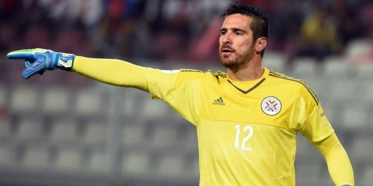 """Arquero paraguayo elogió a Chile: """"Siempre es motivante enfrentar a los mejores jugadores del mundo"""""""