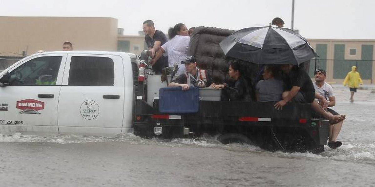 Las fotos más impactantes de la catástrofe provocada por el huracán Harvey en EEUU