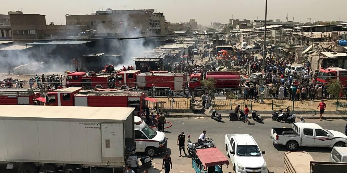 Al menos 12 muertos tras estallar un coche bomba en zona comercial de Bagdad