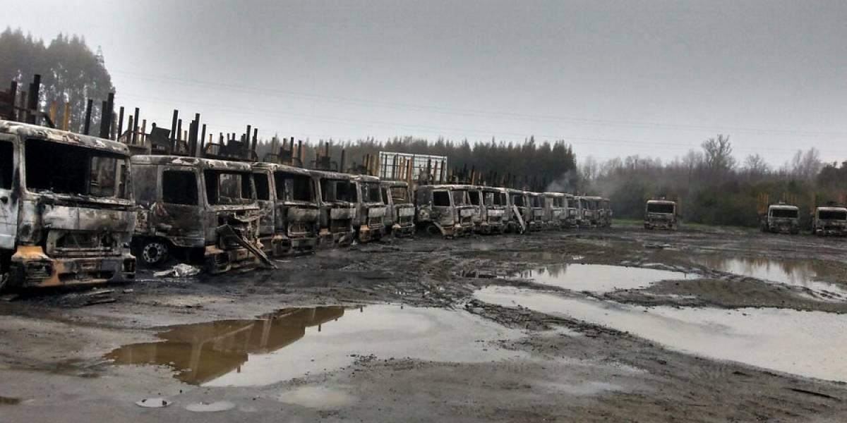 """Presidente de la SNA y ataque a camiones: hay """"terroristas especializados, preparados fuera del país"""""""