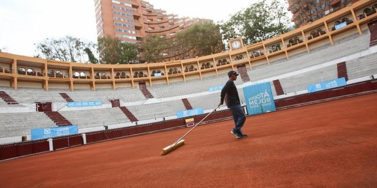 La Santamaría está lista para ser la casa de la Copa Davis