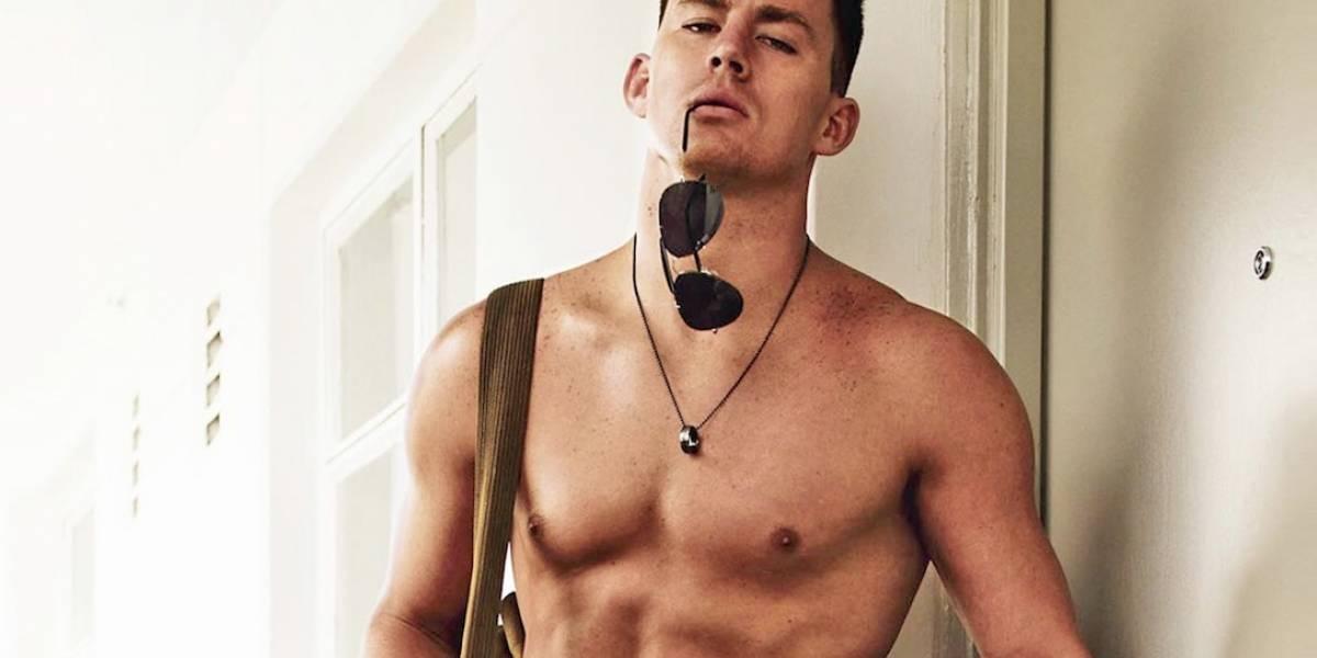 Channing Tatum fue stripper hace años y filtran fotos que lo comprueban