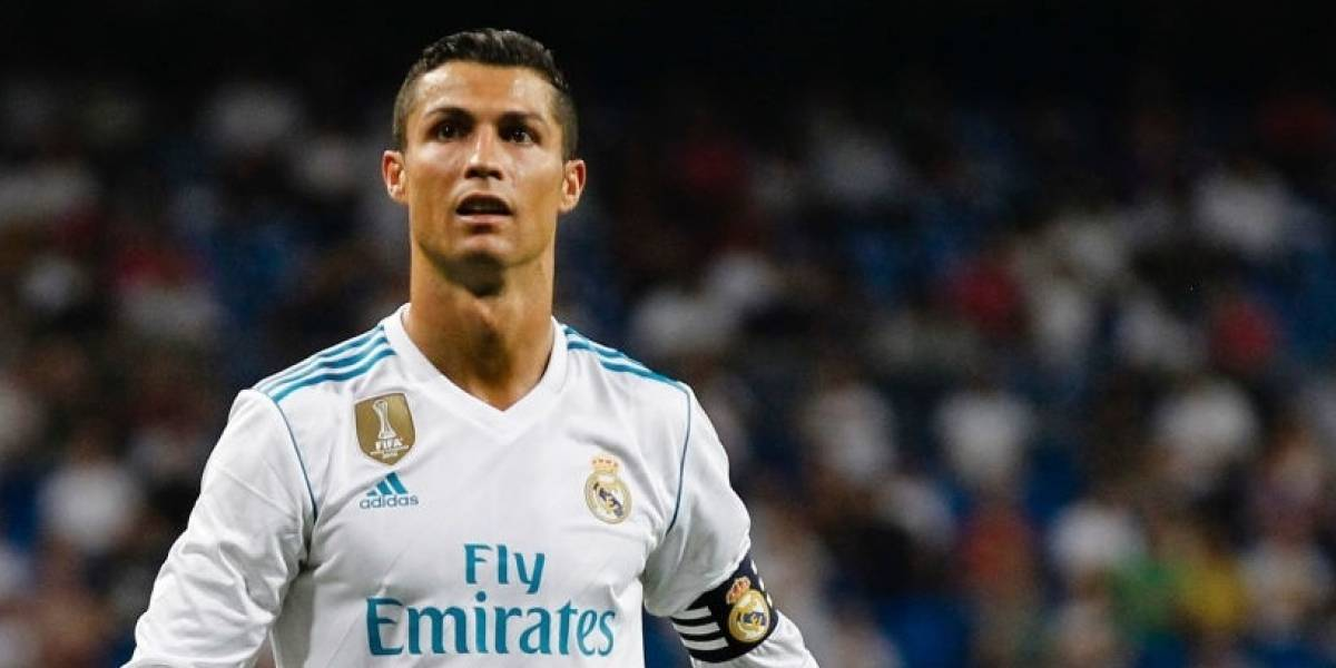 Cristiano Ronaldo se muestra en