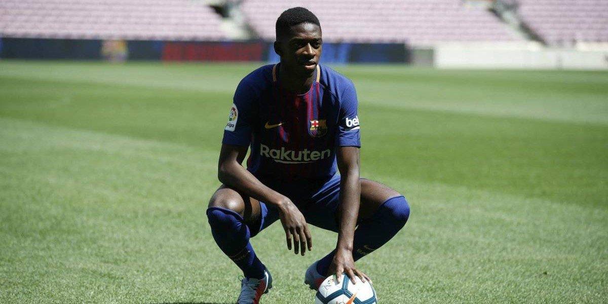 """Dembelé fue presentado como el reemplazante de Neymar: """"Siempre quise jugar en el Barça"""""""