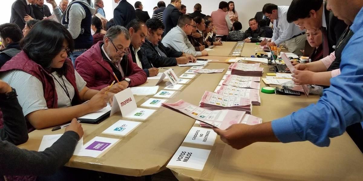 TEPJF concluye recuento de votos en 556 casillas del Edomex