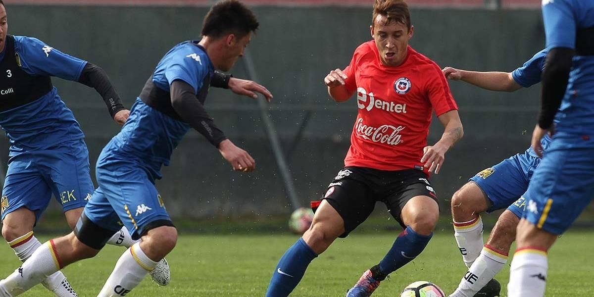 La Roja sub 21 de Héctor Robles completó su nómina para el amistoso frente a Francia