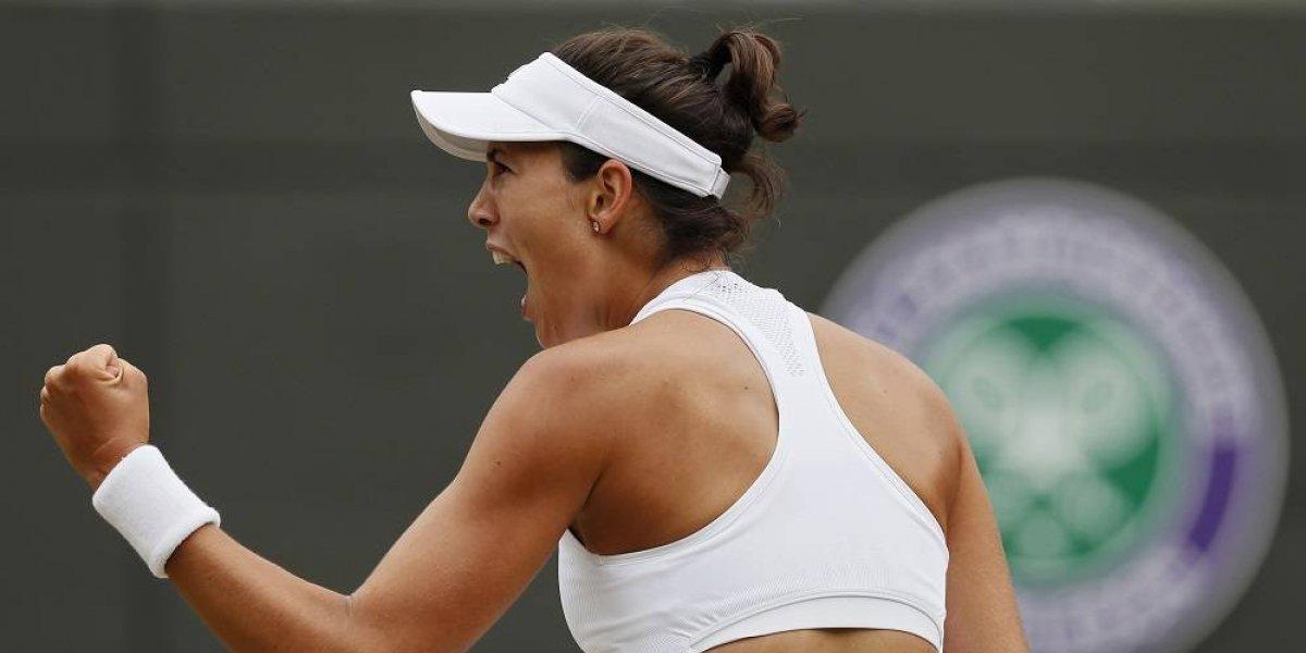 Garbiñe Murguruza tiene buen debut en el US Open