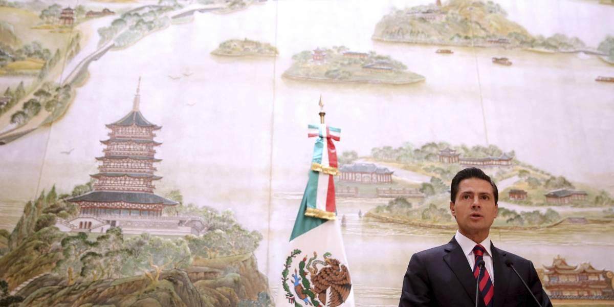 Peña Nieto visitará China para participar en foro de los BRICS