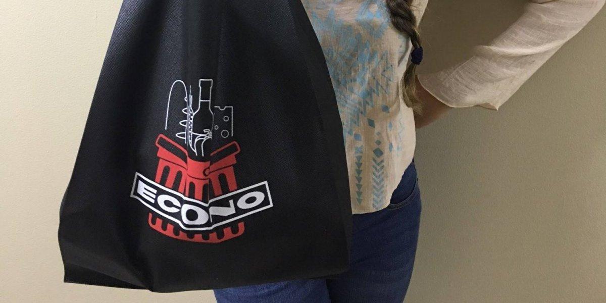 Supermercados Econo presenta sus bolsas reusables